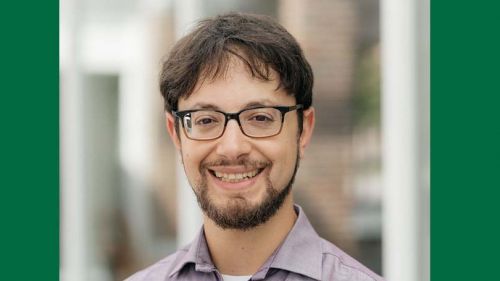 Postdoc Michael Barany is in the Society of Fellows